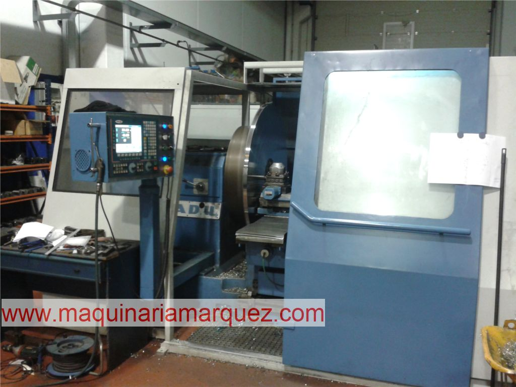 TORNO FRONTAL CNC